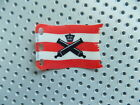 LEGO Plastic Flag 7 x 4 with Crossed Cannons over Red Stripes Pattern 10210 6242