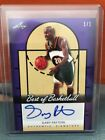 2013 Leaf Best Of Basketball Gary Payton Auto #'d 1 1