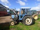 Ford 4600 2wd quicke loader Tractor blue