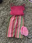 "AMERICNA GIRL DOLL 18"" DOLL CASUAL 3PC FITS OUTFIT EXCELLENT!"