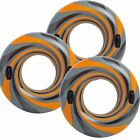 3 PACK Intex Vortex Tube Inflatable Float Swimming Pool Raft with Handles