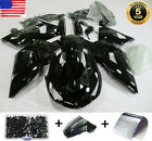Fairing Kit for Kawasaki Ninja ZX14 ZX14R ZZR1400 2006-2011 Gloss Black Bodywork