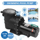 20HP Portable In Ground Swimming Pool Pump Motor Strainer Above ground 110 120V