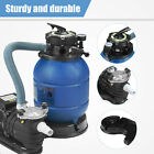 035HP Pro 2450GPH Swimming Pool Pump 13 Sand Filter Above Ground 10000GAL