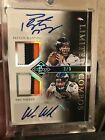 2014 Panini Limited Combos Patch Autograph Peyton Manning Wes Welker 3 3