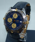 BREITLING CHRONOMAT CHRONOGRAPH AUTOMATIC WATCH STAINLESS & GOLD B13048