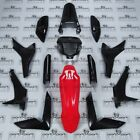 HONDA CRF CRF250 CRF250L -F FAIRINGS PANEL SET + DECALS BLACK RED GENUINE 2012-1