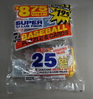 1985 DONRUSS BASEBALL UNOPENED SUPER VALUE PACK 25 PACKS TOTAL MINT SEALED (007)
