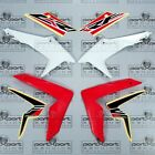 HONDA CRF CRF250 CRF250L -F FRONT + SIDE FAIRING SET + DECALS RED WHITE 2012 -20