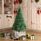 5FT Unlit Artificial Christmas Tree w Stand Indoor Outdoor Holiday Season PVC