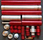 Lot of LARGE 32 15000psi Hydraulic Pneumatic Cylinders  More Billet RAM Rescue