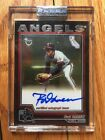 2004 Topps Retired Rod Carew Auto California Angels Autograph