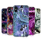 OFFICIAL HAROULITA MARBLE 2 SOFT GEL CASE FOR APPLE iPHONE PHONES