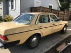 1985 Mercedes Benz 300 Series Excellent Condition 1985 300D California Car