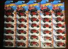 Hot Wheels 17 Jeep Wrangler Huge Lot Of 30 Red Jeeps New In Package