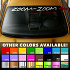 Mazda Zoom-zoom Mazdaspeed Windshield Banner Vinyl Decal Sticker 40x3.5