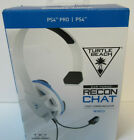 Turtle Beach Recon Chat White Gaming Headset for PS4 and PS4 Pro - PlayStatio...
