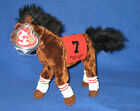 TY STREET SENSE the KENTUCKY DERBY HORSE BEANIE BABY - MINT with MINT TAG