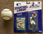Terry Steinbach autographed baseball and Starting Lineup figure 1989