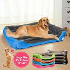 Pet Dog Bed Warm Large Dog House Soft Dog Nest Basket Kennel For Cat Puppy XXXL