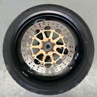 FRONT WHEEL RIM WITH TYRE STRAIGHT SUIT BREMBO DUCATI MONSTER M600 DARK 600 1999