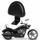 USA Black Leather Rear Passenger Backrest For Victory Vegas Kingpin High-Ball