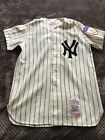 MICKEY MANTLE- NY YANKEES MITCHELL & NESS 1951 COOPERSTOWN JERSEY Sz M NEW