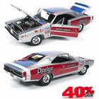 Auto World AW228 1969 Dodge Charger R T Dick Landy Diecast Model Car 118