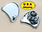 Chrome Fairing Mount Mirrors For Harley Ultra Classic Electra Glide 1996-2013 US