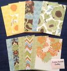 Stampin Up DSP Designer Specialty Paper A2 size card fronts 4x525 in sets