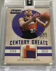 Jason Kidd 1 1 2014-15 Panini Threads Century Greats Black Box Patch Jersey Suns