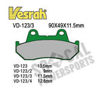 1984-1987 Honda CBX750F (RC17) Motorcycle Vesrah Organic Brake Pads [Rear]
