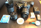 Nikon D90 SLR OUTFIT 3 LENSES and EXTRAS