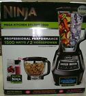 Ninja Mega Kitchen System 1500 Watts 72 Oz Blender Food Processor Black