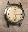 Vintage Stainless 1952 Omega Seamaster Watch Bumper Automatic Calendar @ 6