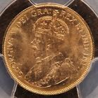 1913 Canada $10 GOLD PCGS MS63 Canadian Gold Reserve Holder .4838 agw