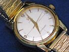 Vintage Omega Seamaster Men's Wristwatch Gold Filled with Band Working Condition
