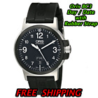 ORIS BC3 Advanced Day Date Automatic Mechanical Watch 73576414364RS Rubber Strap