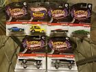 Lot of 6 Hot Wheels Larrys Garage 69 Camaro School Busted Pontiac GTO +more