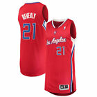 adidas Patrick Beverley LA Clippers Red Finished Authentic Jersey