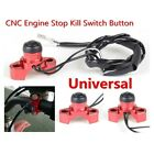CNC Motorcycle Engine Stop Start Kill Switch Button Universal Dirt Pit Bike Quad