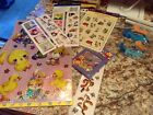 HUGE LOT OF 300 Scrapbook Stickers Packages BRAND NEW Misc brands