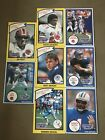 1990 Starting Lineup NFL Lot Of 8 D Sanders Aikman J Kelly Etc Good Cond Open