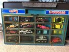 Vtg 1981 HOT WHEELS SHOWCASE Cars Lot Carry Case Display