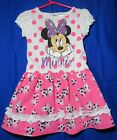 Disney Minnie Mouse dress with polka dots and butterflies size 3T