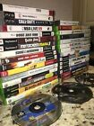 Lot of 32 Video Games Xbox & Xbox 360, Playsation 1, PS2, PS3, and Nintendo DS