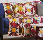 SPARKLE Quilt Pattern Piecing Assorted Prints from Magazine