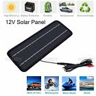 45W Portable Solar Panel Power DC 12V Battery Charger for Motorcycle Boat Car