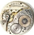 Art Deco Waltham Pocket Watch Movement For Parts Repairs PA19