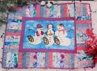 SNOWSHOE SHUFFLE Quilt Pattern Piecing Fusible Applique from Magazine